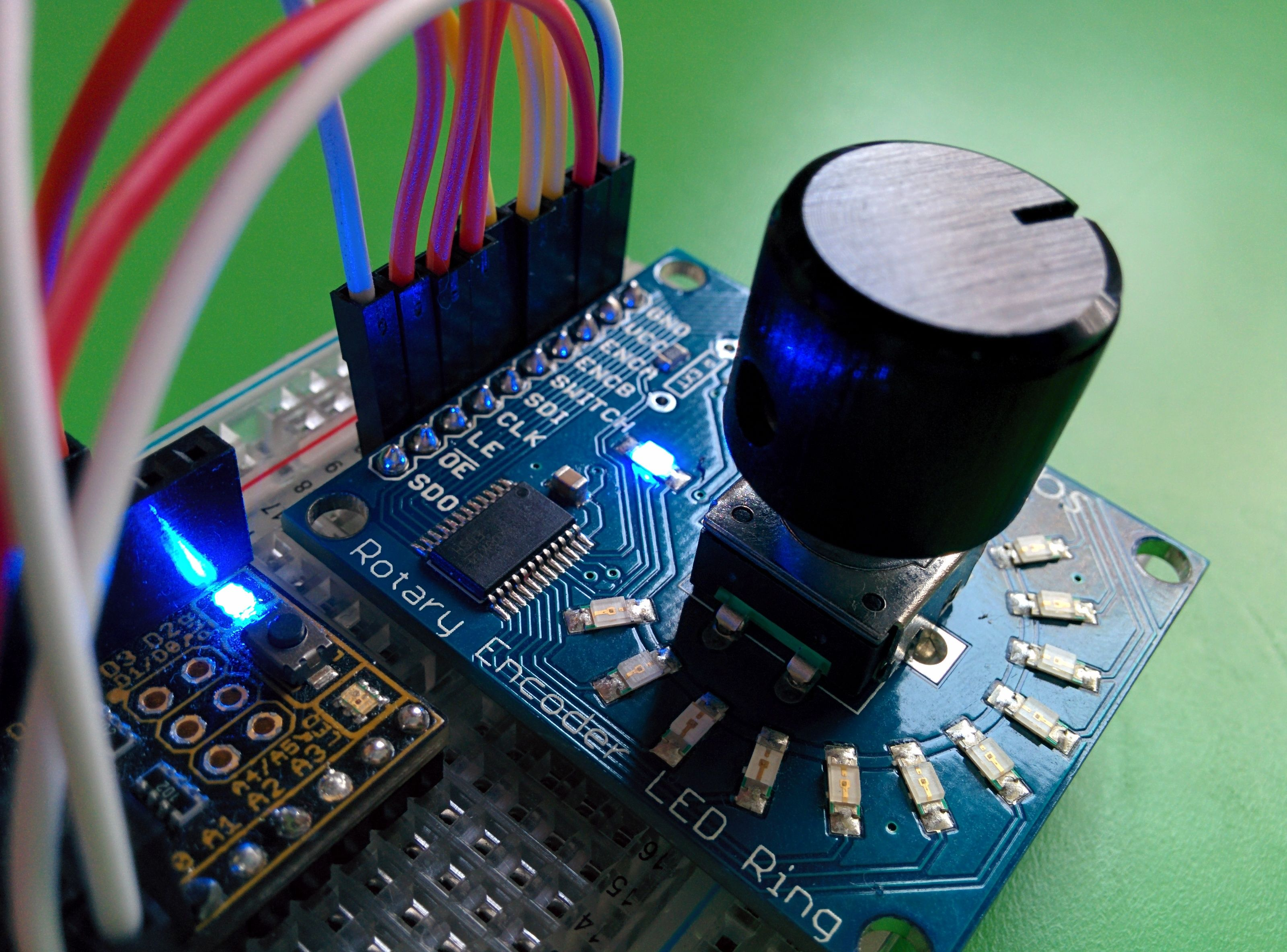 Volume Control With Arduino Leonardo Limejuice How To Build A Rotary Encoder Circuit An 2014 11 14 170104